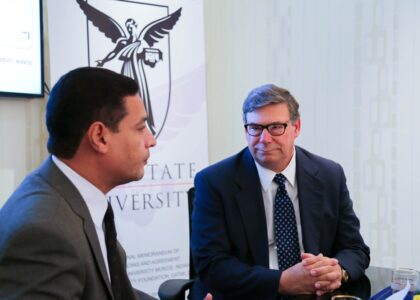 Ball State University in America recommends the SHARIK Entrepreneurship Program to empowerment  youth in the Arab world