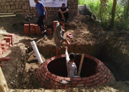 Implementation of biogas units for sustainable rural development