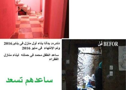 Building and renovating the homes of the poor for a decent life  Better life for poor people
